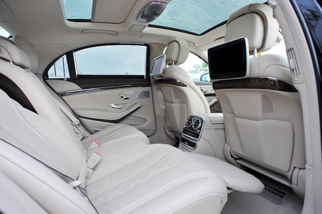 nội thất S500L