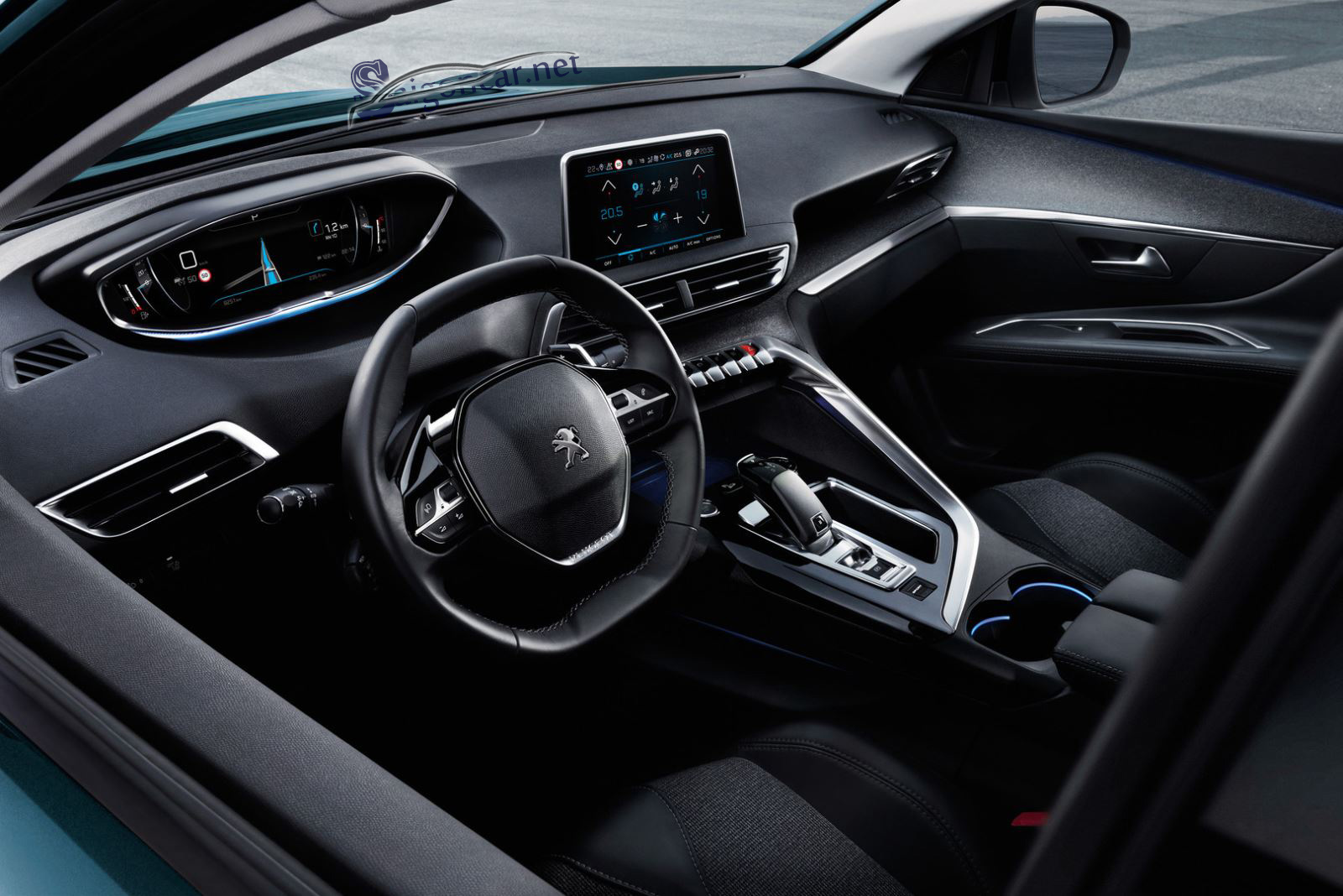 Khoang Lái Peugeot 5008 2019