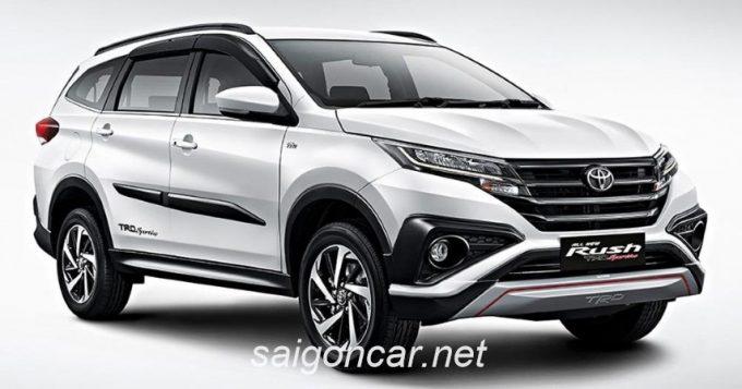 Toyota Rush 2019 Dau Xe