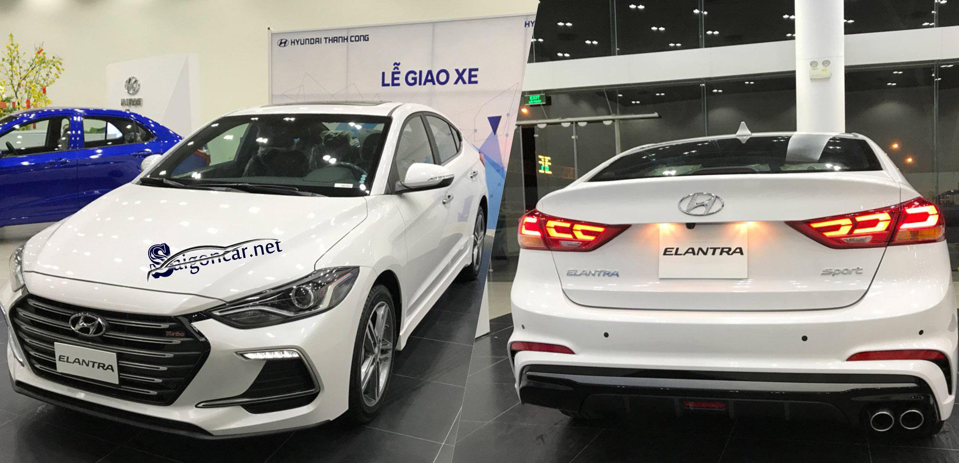 Đánh giá Hyundai Elantra 2019