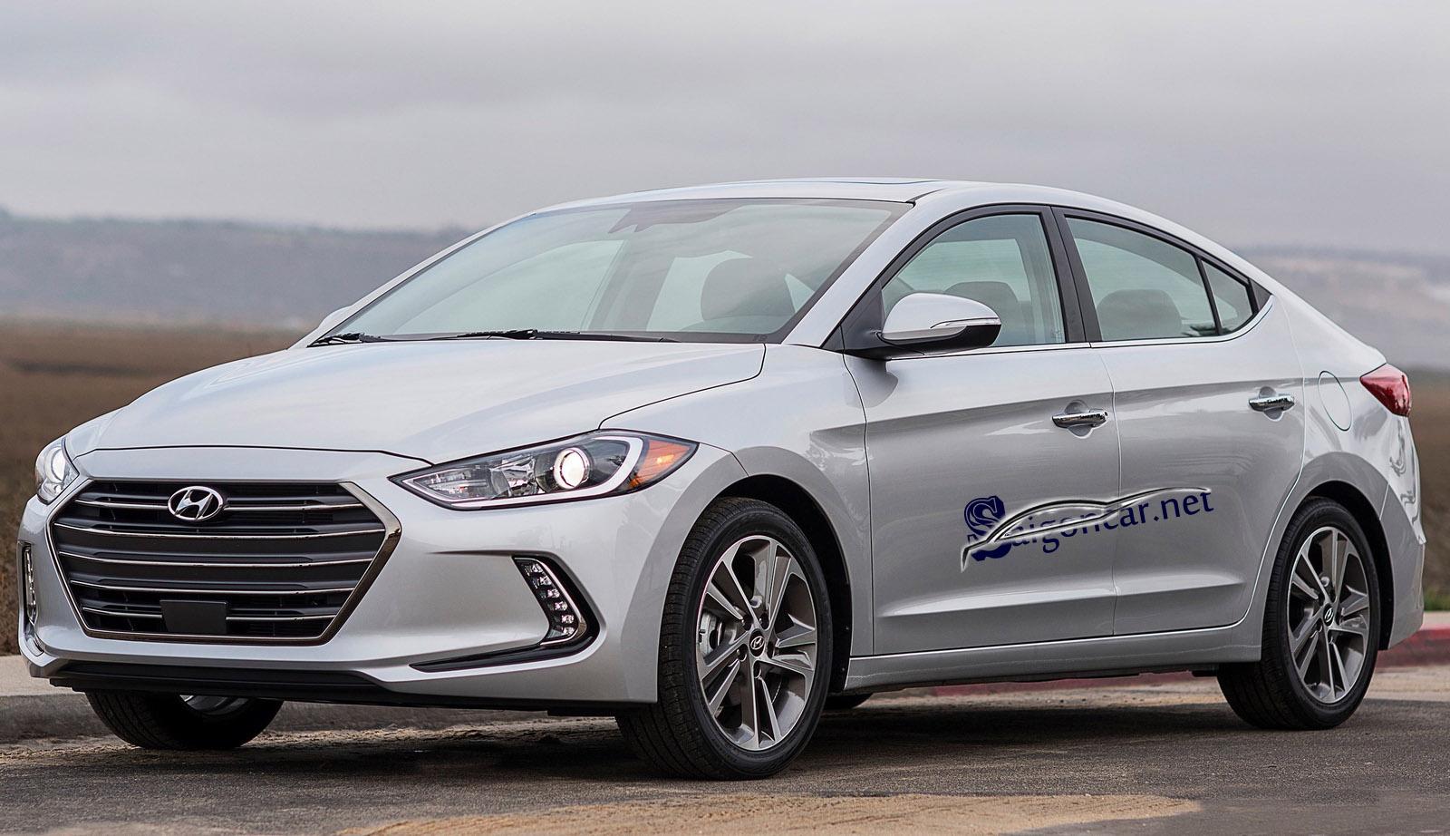 Ngoại thất Hyundai Elantra 2019