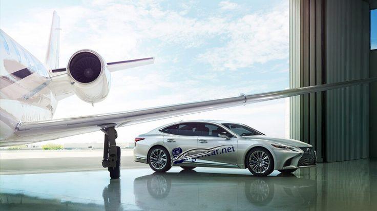 thân xe Lexus LS 500 2019