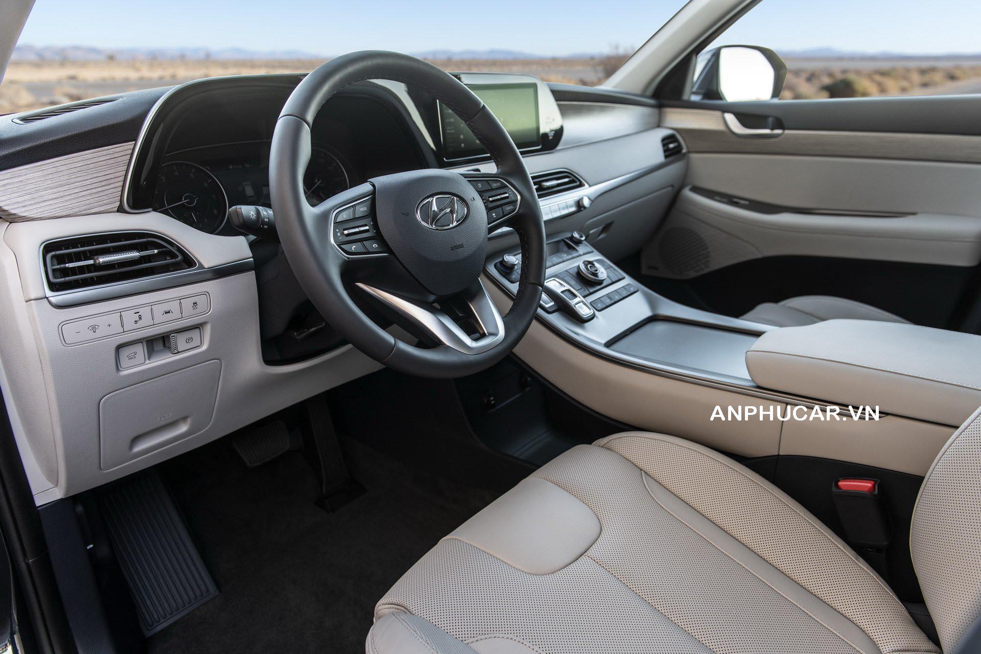 Hyundai Palisade 2020 ngoại thất nội thất xe