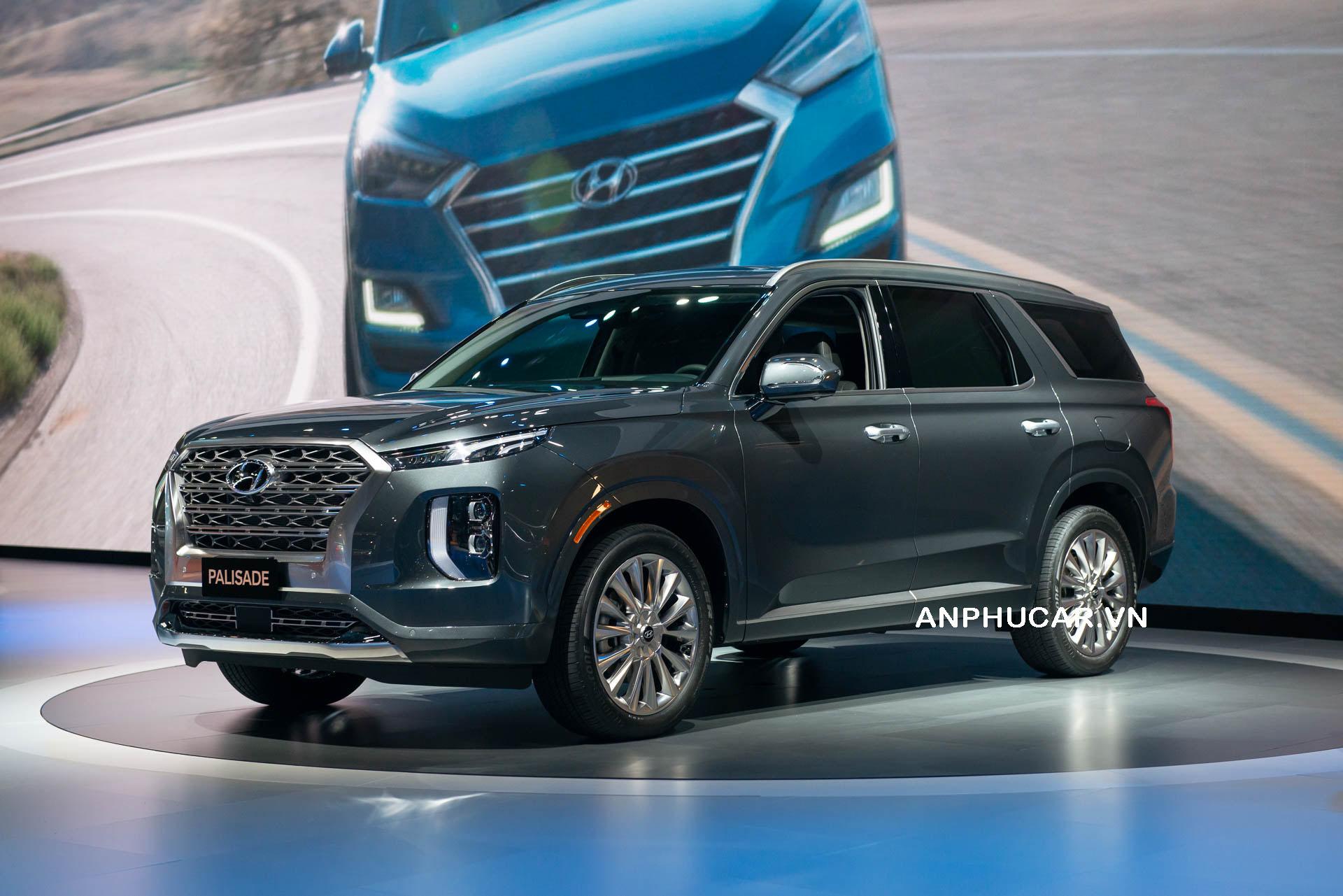 Hyundai Palisade 2020 ngoại thất tiện nghi sang trọng