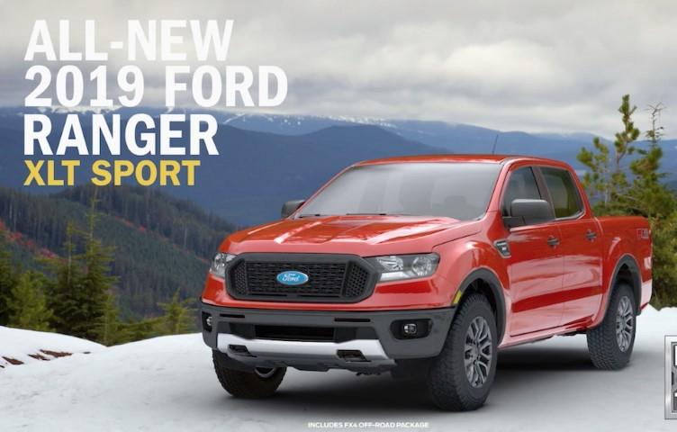 Ford Ranger XLT dau xe